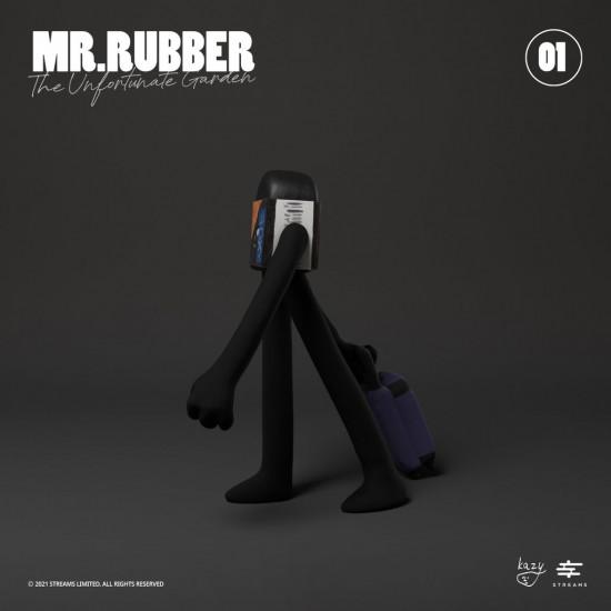 Kazy Chan - Mr. Rubber - Charcoal Black Version