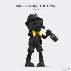 SKULLTOONS THE PINO - YOLO - Golden Black Version